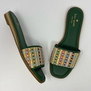Kate Spade Palm Cove Slide Sandals Size 9.5